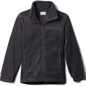 Columbia Gray Fleece Jacket Size 2T
